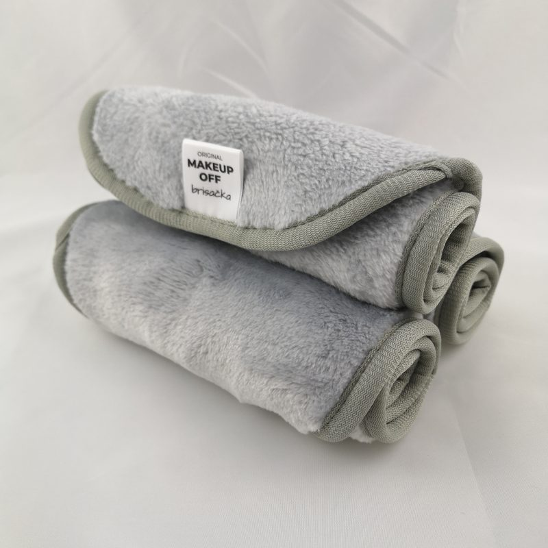5 € POPUSTA: 3x MOF Brisačka Light Grey